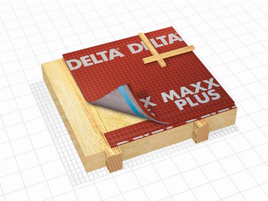 DELTA-MAXX PLUS Энергосберегающая мембрана