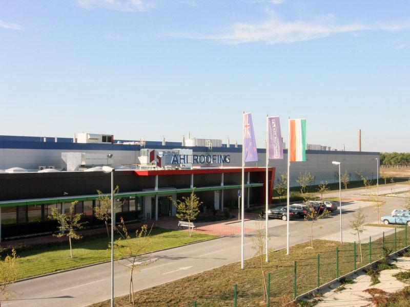 Завод Ahi Roofing , Венгрия, Варпалота